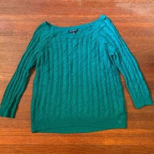 American Eagle Teal Sweater Sz S